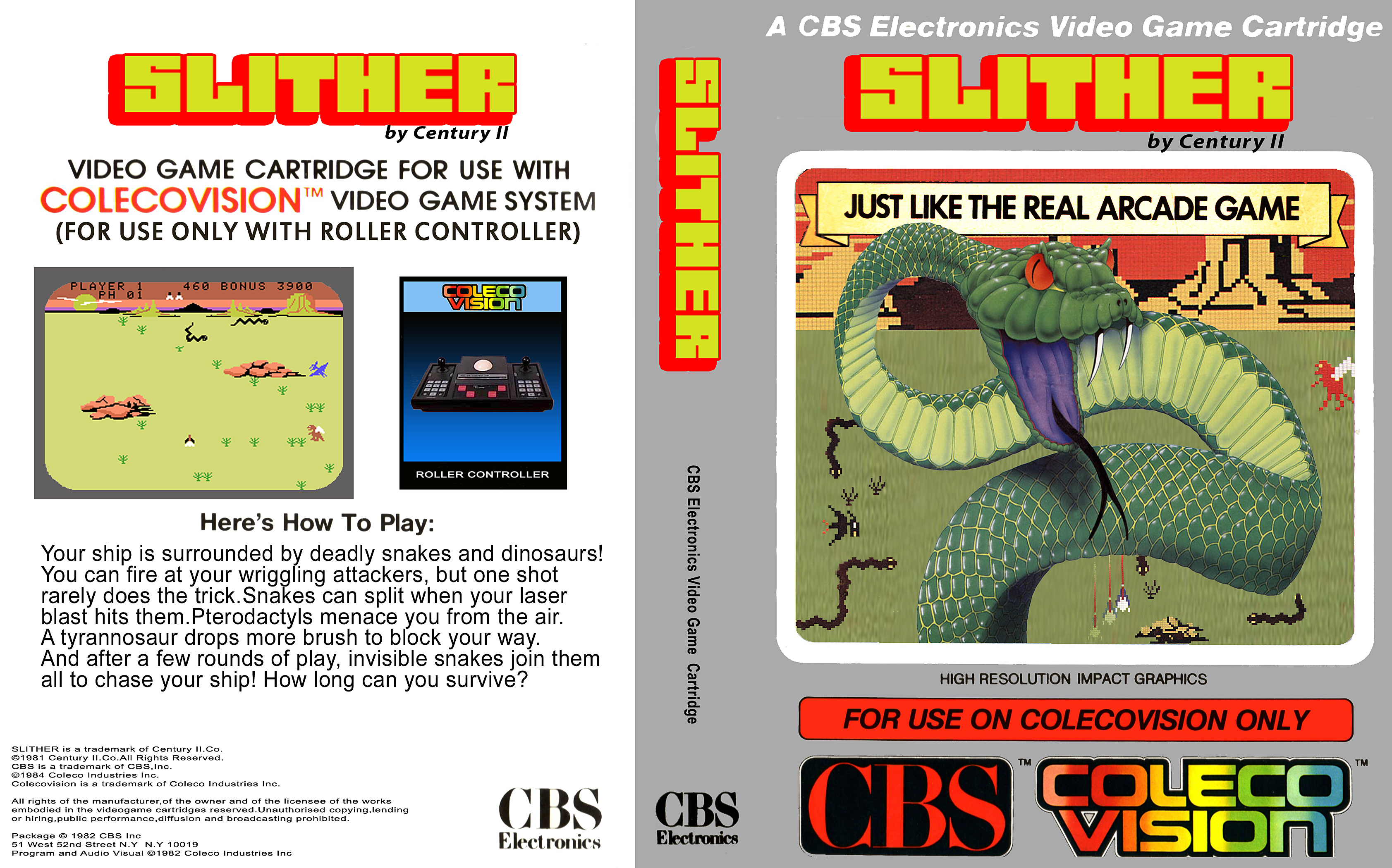 Coleco ColecoVision Game Covers Box Scans Box Art CD Labels