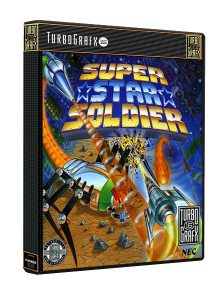 NEC TurboGrafx 16 PC Engine 3D Boxart Game Cover Box Art
