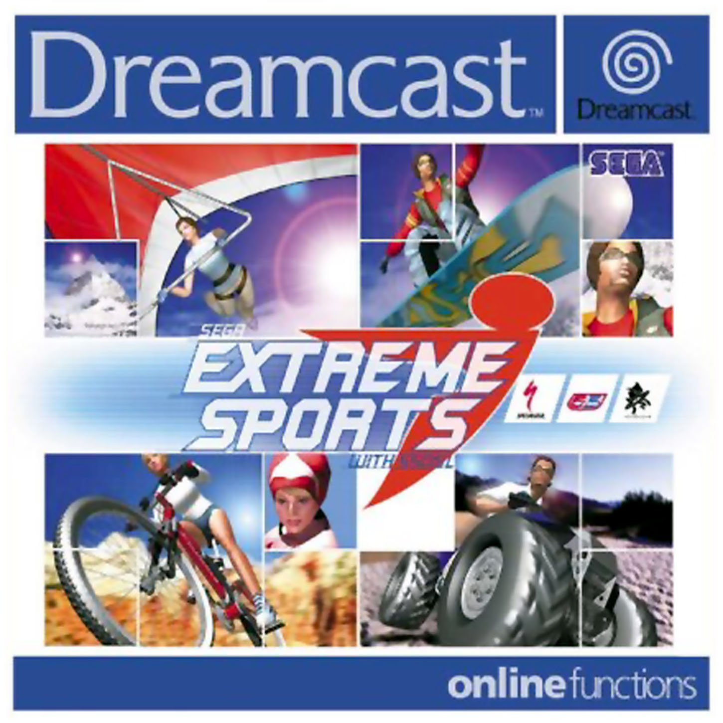 Extreme Sports: Sega Dreamcast Games PAL S Game Covers Box Scans Box Art