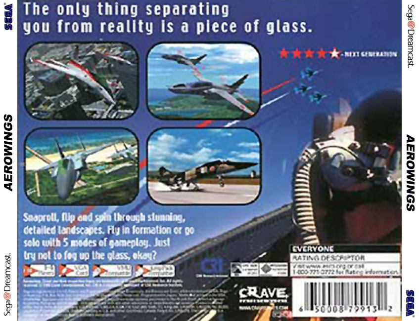 Sega Dreamcast Games USA a Game Cover Box Art