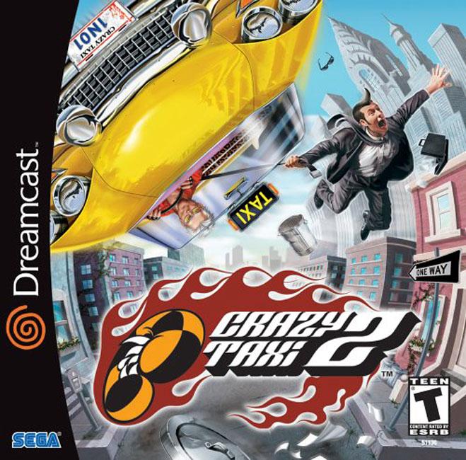 Sega Dreamcast Games USA c Game Cover Box Art