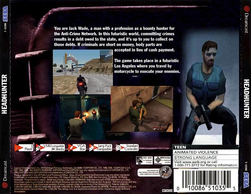 Sega Dreamcast Games USA h Game Covers Box Scans Box Art CD