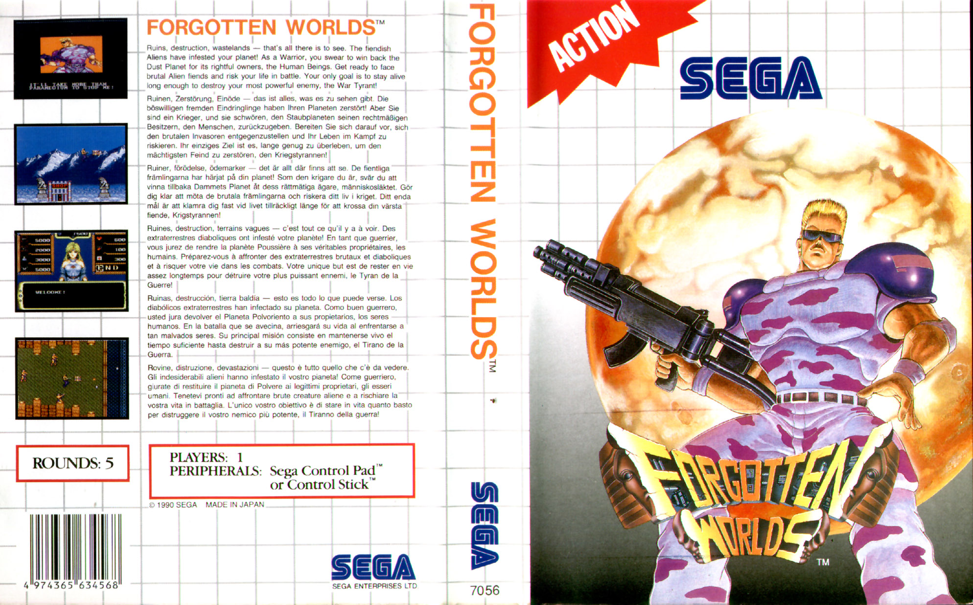 Sega Master System F Game Covers Box Scans Box Art CD ...