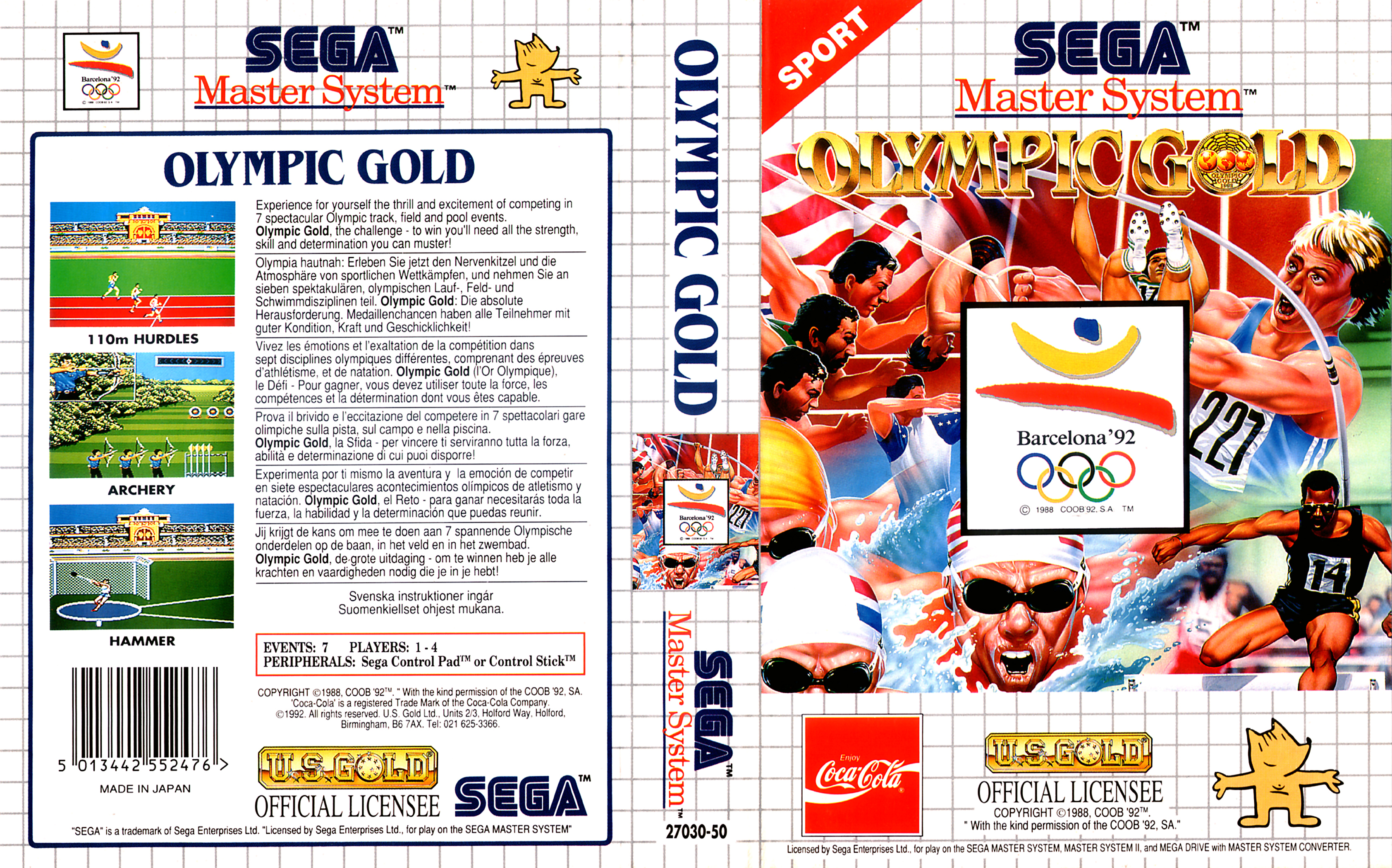 Sega Master System O Game Covers Box Scans Box Art CD ...