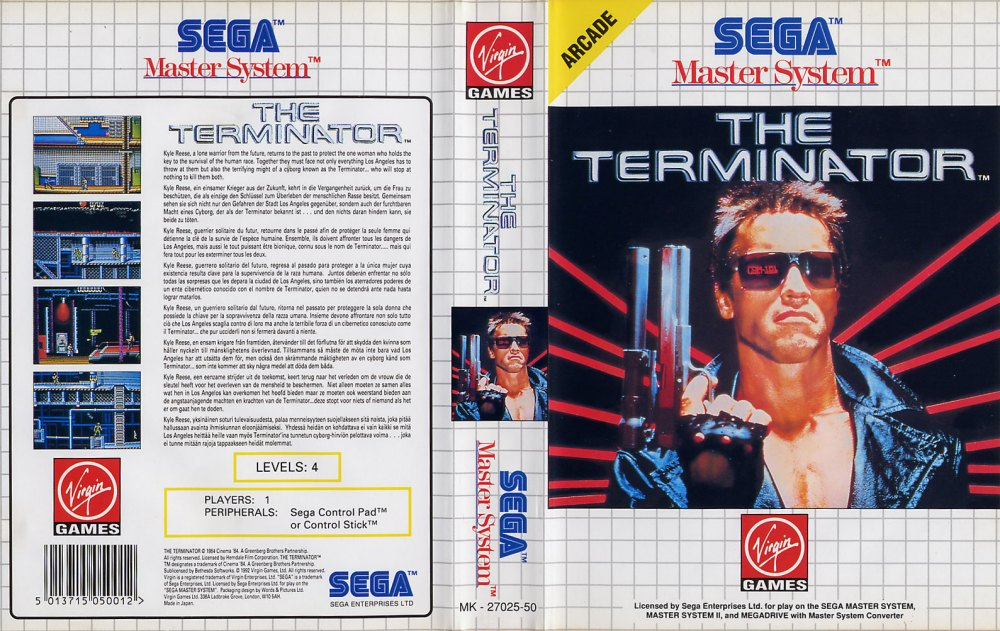 Sega Master System T Game Covers Box Scans Box Art CD ...