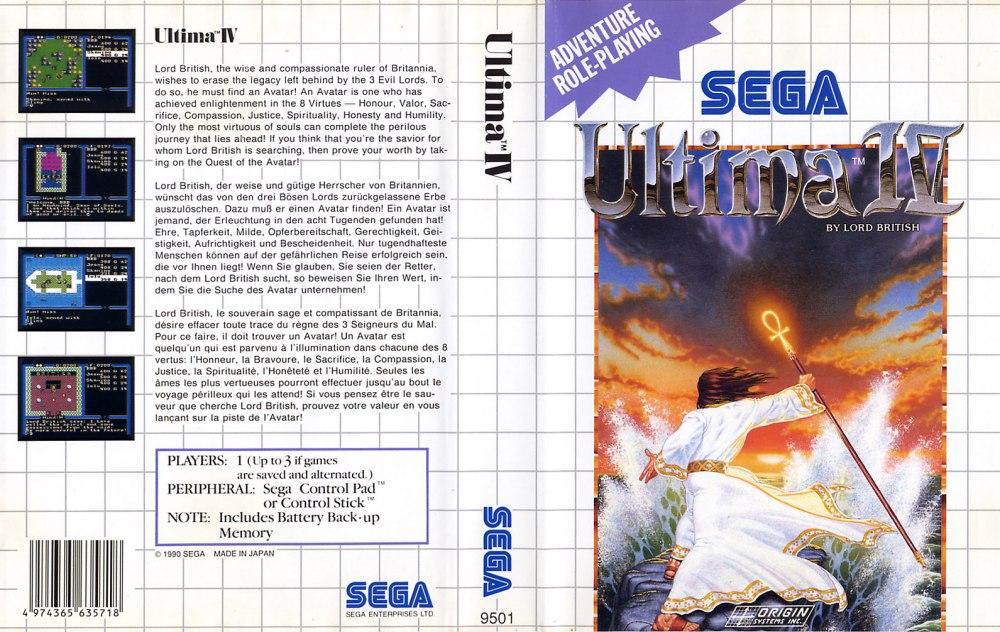 Sega Master System U Game Covers Box Scans Box Art CD ...