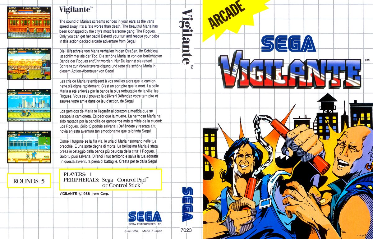 Sega Master System V Game Covers Box Scans Box Art CD ...