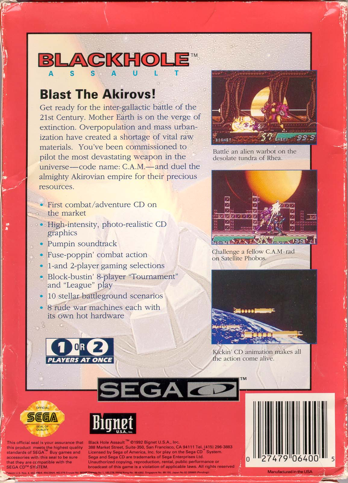 sega mega cd box scans b game covers box scans box art cd labels blackhole assault u back jpg
