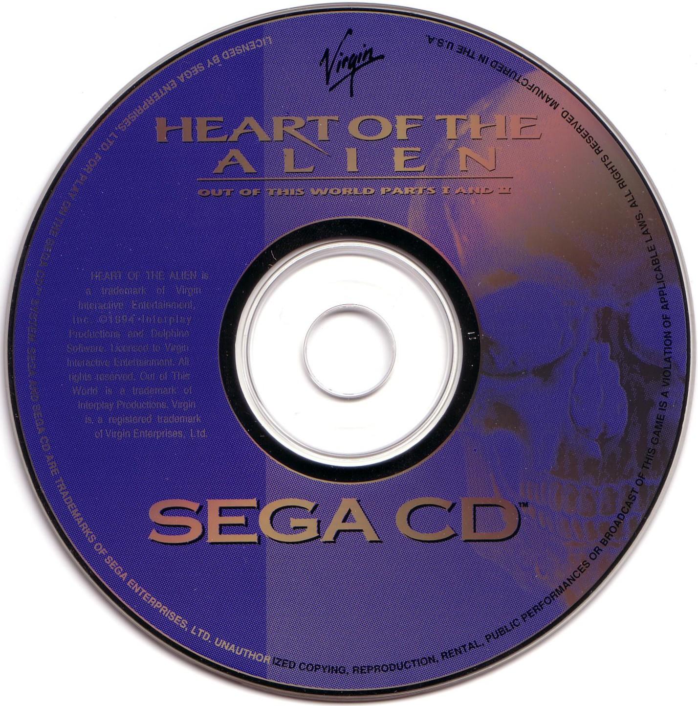 Sega Mega CD Disc Scans Game Covers Box Scans Box Art CD