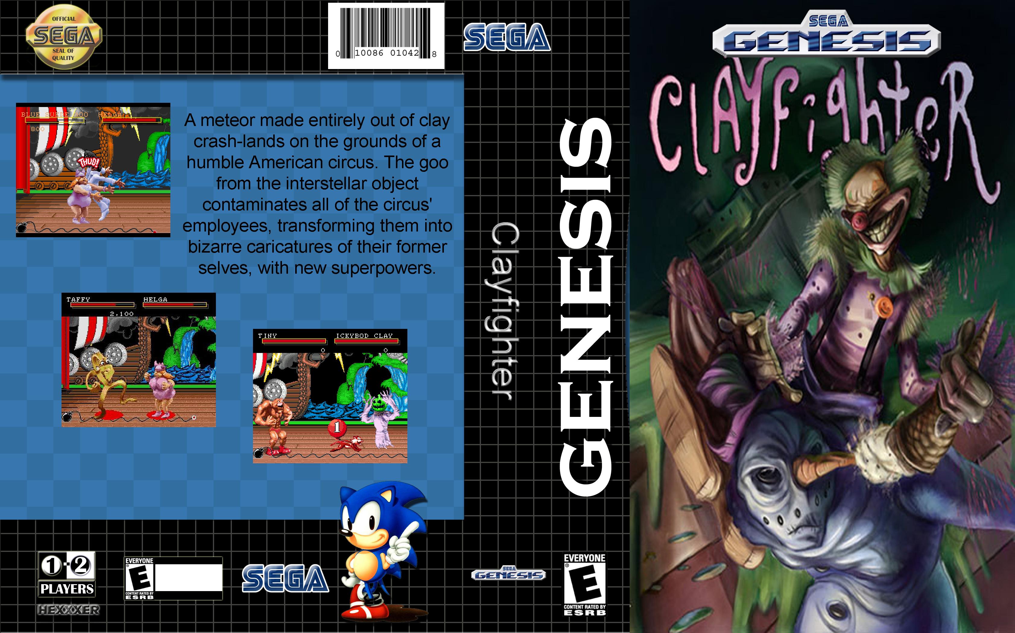 Sega Megadrive Genesis C Game Covers Box Scans Box Art CD