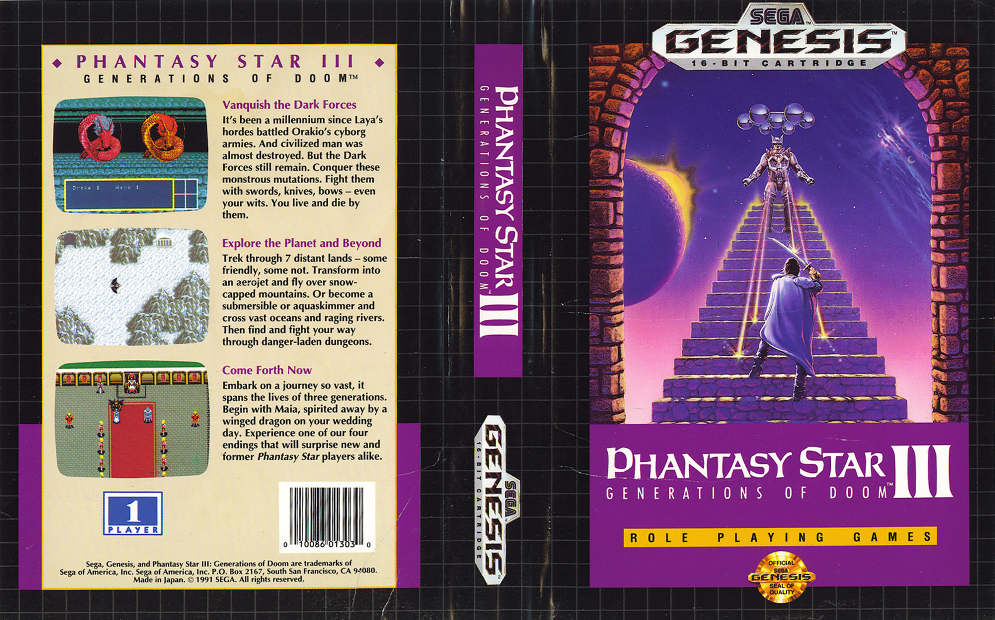 PHANTASY STAR III (1991) (Ver Vídeo)