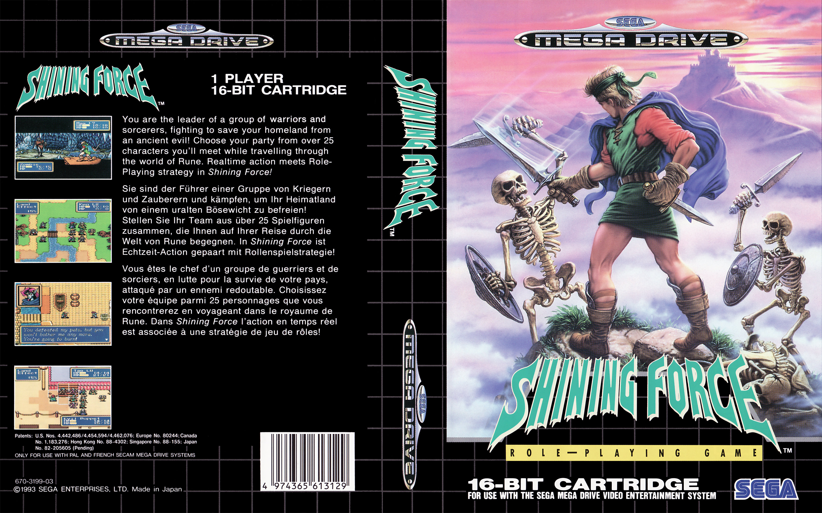 Sega Megadrive Genesis S Game Covers Box Scans Box Art CD