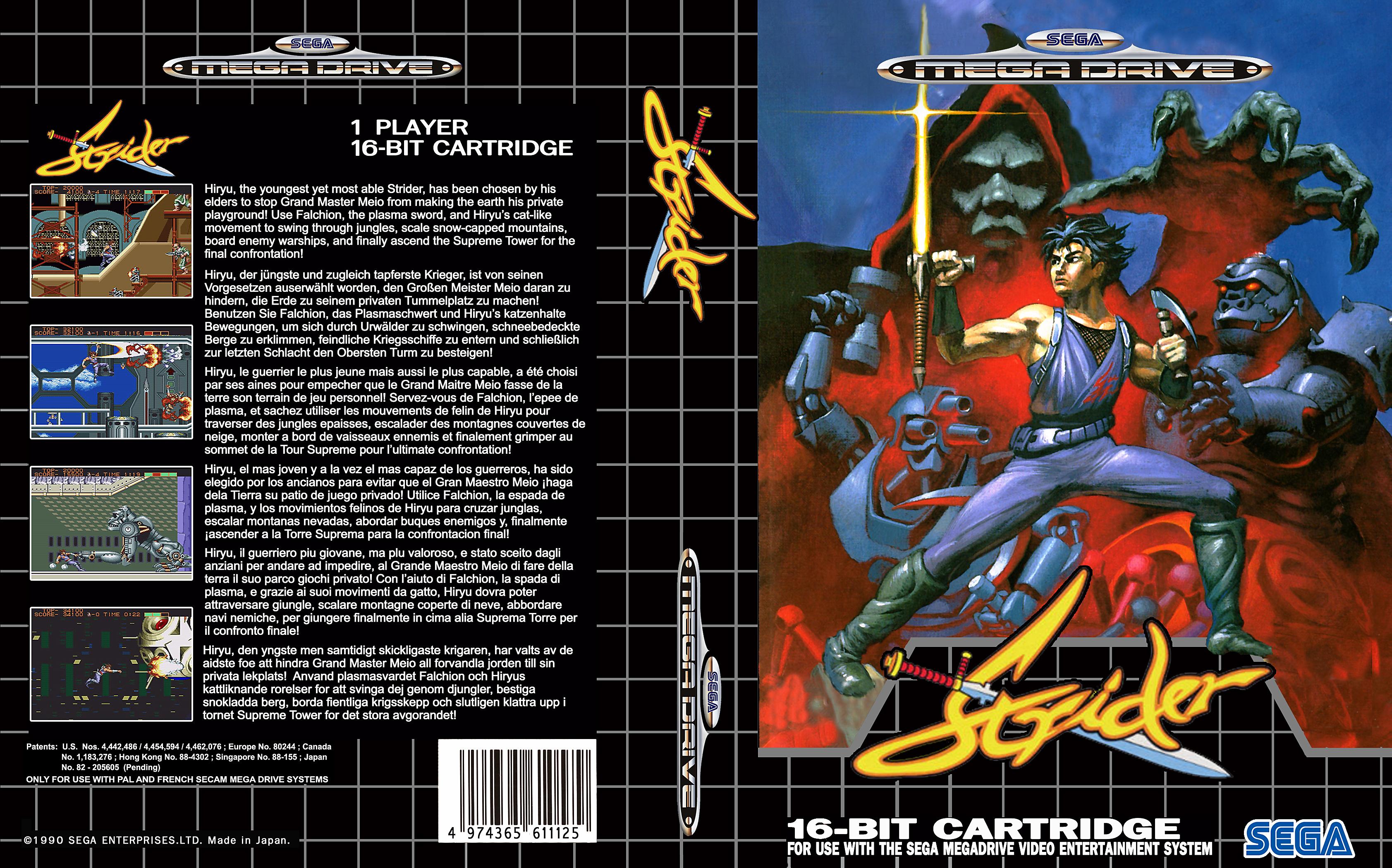 Sega Megadrive Genesis Game