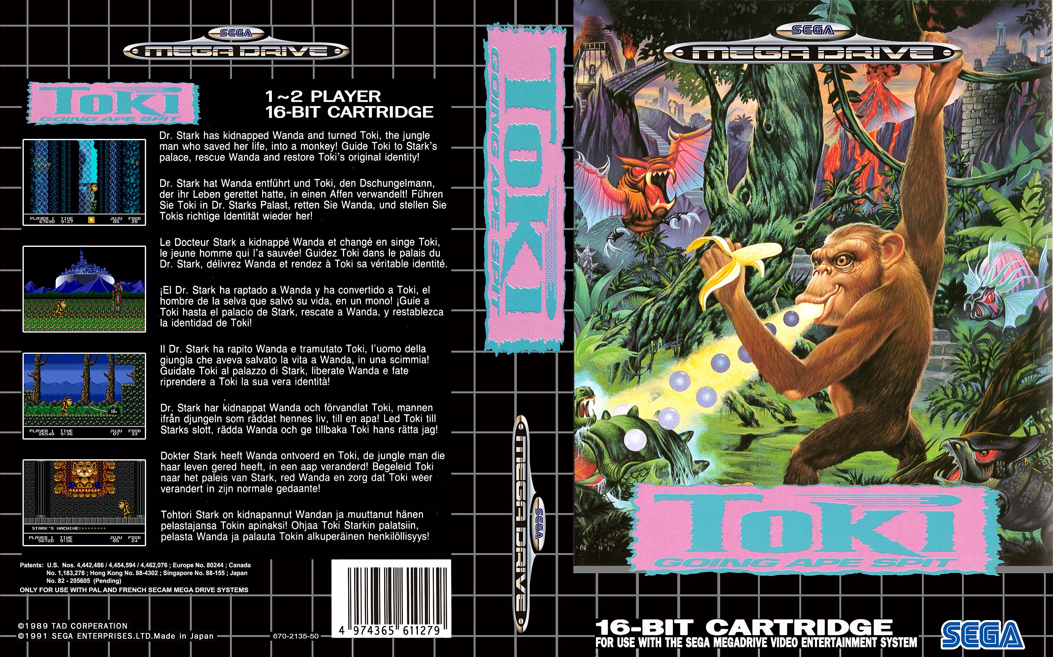 Sega Megadrive Genesis T Game Covers Box Scans Box Art CD