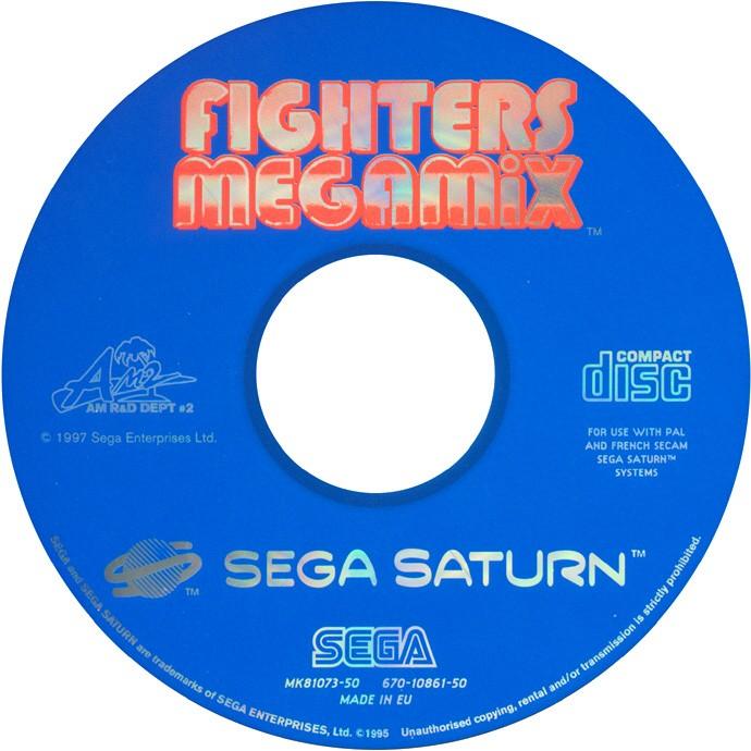 Sega Saturn F Fighters Megamix E Game Covers Box Scans Box