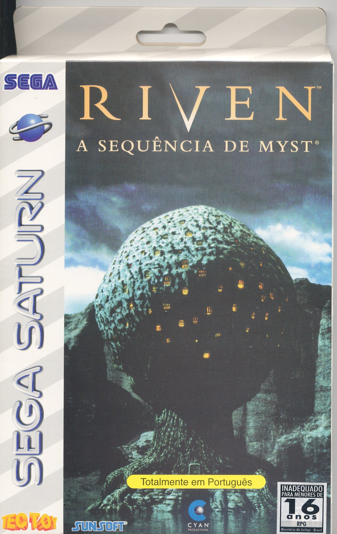 Sega Saturn R Riven The Sequel To Myst B Game Covers Box