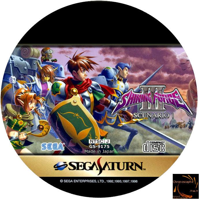 Sega Saturn S Shining Force 3 Scenario 1 J Game Covers Box