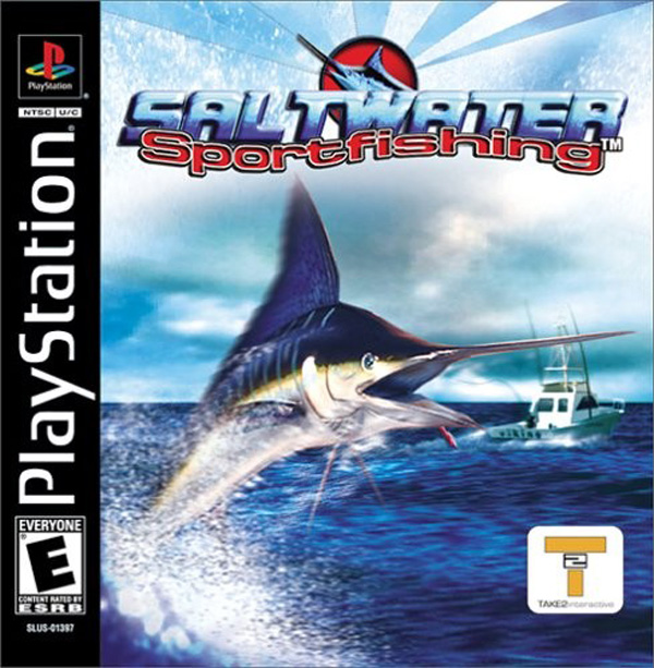 Sony playstation ps1 s game covers box scans box art cd for Ps3 fishing games