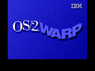 OS2 Warp Merlin Boot Up Screen